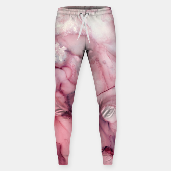 Thumbnail image of Liquid Mauve Abstract Cotton sweatpants, Live Heroes