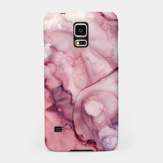 Thumbnail image of Liquid Mauve Abstract Samsung Case, Live Heroes
