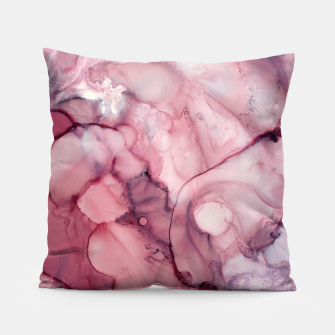 Thumbnail image of Liquid Mauve Abstract Pillow, Live Heroes
