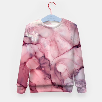 Thumbnail image of Liquid Mauve Abstract Kid's sweater, Live Heroes