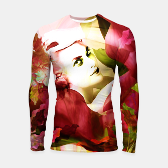 "Miniaturka ""Exotic Woman Tropical Jungle"" Longsleeve rashguard, Live Heroes"