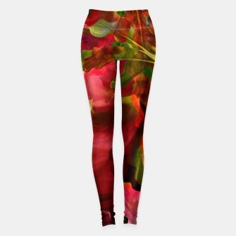 "Imagen en miniatura de ""Exotic Woman Tropical Jungle"" Leggings, Live Heroes"