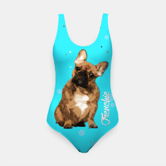 Thumbnail image of French Bulldog Puppy Swimsuit, Live Heroes
