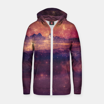 Thumbnail image of Storm of VVonder Cotton zip up hoodie, Live Heroes