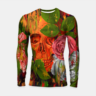 Thumbnail image of Colors of Death Longsleeve rashguard , Live Heroes
