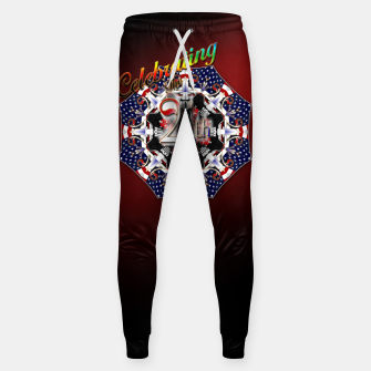 Thumbnail image of Celebrating The 4th Cotton sweatpants, Live Heroes