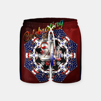 Thumbnail image of Celebrating The 4th Swim Shorts, Live Heroes