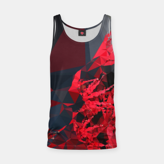 Thumbnail image of Crimson Red Tank Top, Live Heroes
