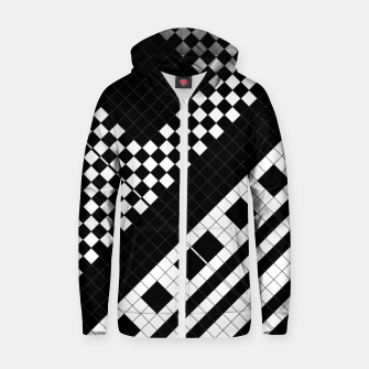 Thumbnail image of Subway Geometrix Cotton zip up hoodie, Live Heroes