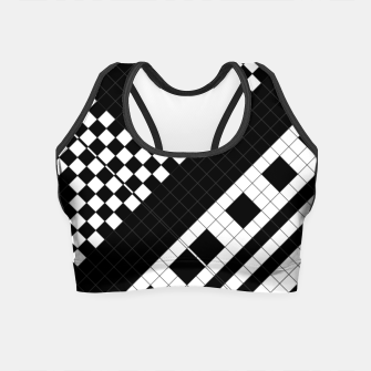 Thumbnail image of Subway Geometrix Crop Top, Live Heroes