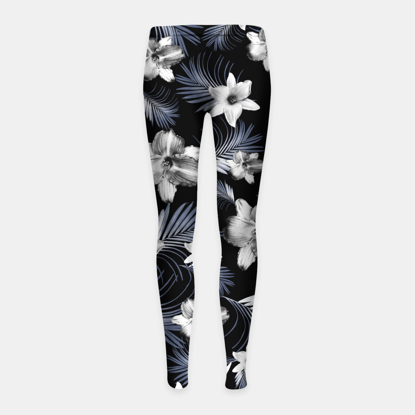 a17b8a77ff011 Tropical Flowers Palm Leaves Finesse #4 #tropical #decor #art  Kinder-Leggins, Live Heroes