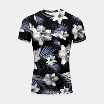 Miniatur Tropical Flowers Palm Leaves Finesse #4 #tropical #decor #art  Shortsleeve rashguard, Live Heroes