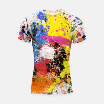 Miniatur paint the world Shortsleeve rashguard, Live Heroes