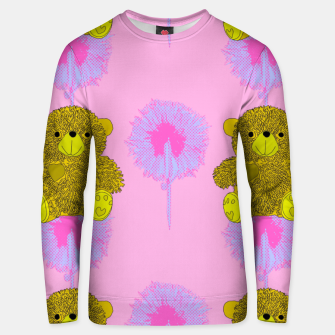 Thumbnail image of Teddy Bear Print Cotton sweater, Live Heroes