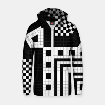 Thumbnail image of Trylin Parametric Cotton zip up hoodie, Live Heroes
