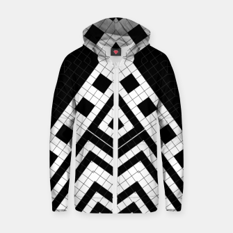 Thumbnail image of Architecture Geometrix Cotton zip up hoodie, Live Heroes