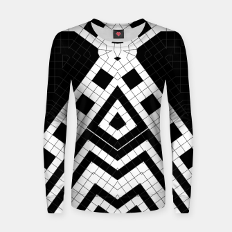 Thumbnail image of Architecture Geometrix Woman cotton sweater, Live Heroes
