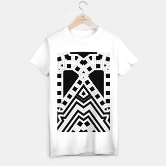 Thumbnail image of Architecture Geometrix T-shirt regular, Live Heroes