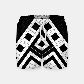 Thumbnail image of Architecture Geometrix Swim Shorts, Live Heroes