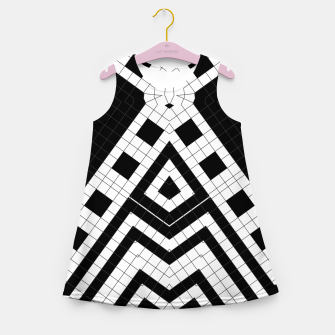 Thumbnail image of Architecture Geometrix Girl's summer dress, Live Heroes