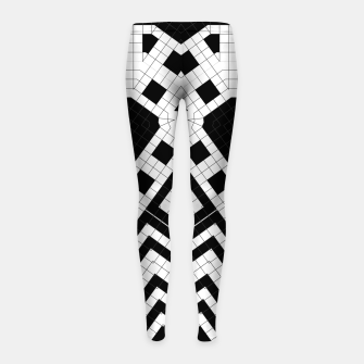 Thumbnail image of Architecture Geometrix Girl's leggings, Live Heroes