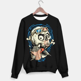 Thumbnail image of Skull Movie Sweater regular, Live Heroes