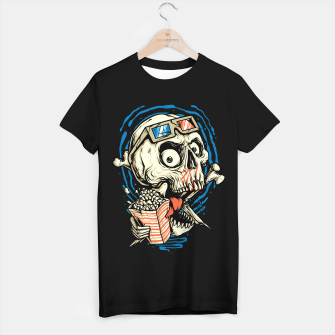 Thumbnail image of Skull Movie T-shirt regular, Live Heroes