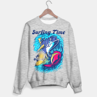 Miniaturka Surfing Time Sweater regular, Live Heroes