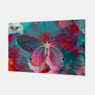 "Miniaturka ""Spring Butterfly love"" Canvas, Live Heroes"