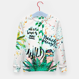Thumbnail image of Wild Kid's sweater, Live Heroes