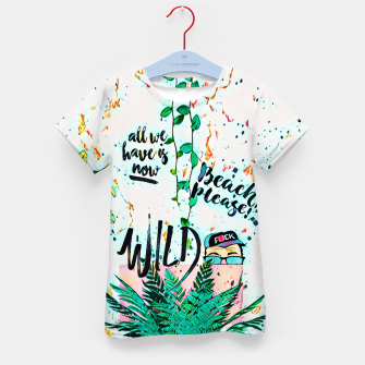 Thumbnail image of Wild Kid's t-shirt, Live Heroes