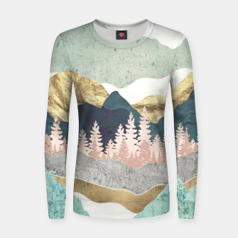 Thumbnail image of Summer Vista Woman cotton sweater, Live Heroes