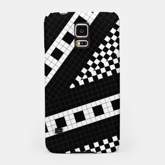 Thumbnail image of Subway Plaid Geometrics RR90 Samsung Case, Live Heroes
