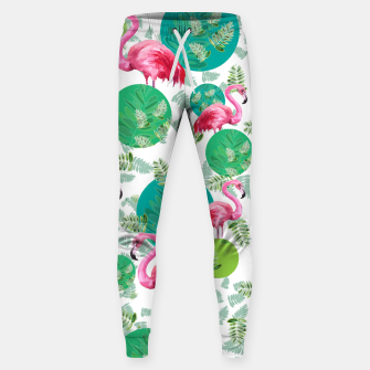 Miniatur Flamingo land Cotton sweatpants, Live Heroes