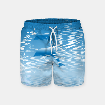 Surfing the Waves Swim Shorts miniature