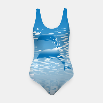 Surfing the Waves Swimsuit miniature