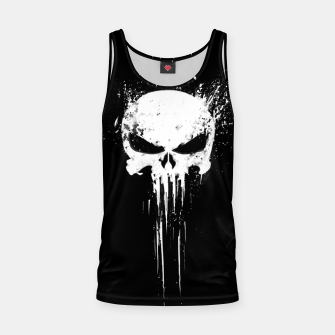 Thumbnail image of punisher Tank Top, Live Heroes