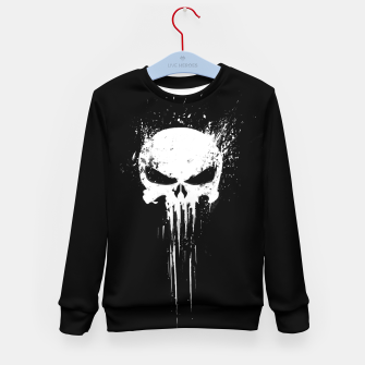 Thumbnail image of punisher Kid's sweater, Live Heroes