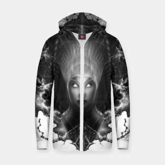 Thumbnail image of Riddian Queen Oracle GS Cotton zip up hoodie, Live Heroes