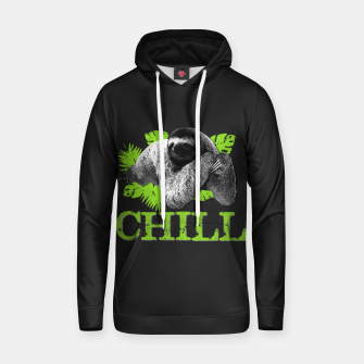 Thumbnail image of Funny Sloth - Chill Cotton hoodie, Live Heroes