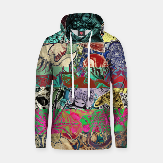 Thumbnail image of Color Stickers Cotton hoodie, Live Heroes
