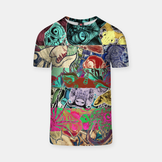 Thumbnail image of Color Stickers T-shirt, Live Heroes