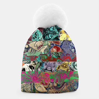 Thumbnail image of Color Stickers Beanie, Live Heroes