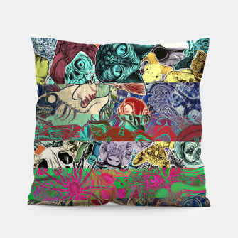 Thumbnail image of Color Stickers Pillow, Live Heroes