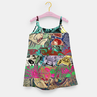 Thumbnail image of Color Stickers Girl's dress, Live Heroes