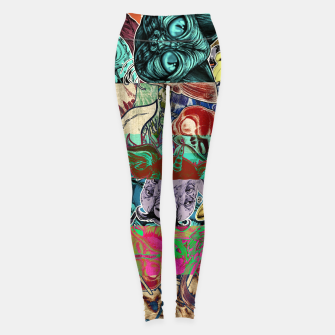 Miniaturka Color Stickers Leggings, Live Heroes