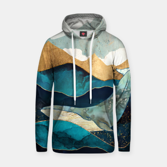 Thumbnail image of Blue Whale Cotton hoodie, Live Heroes