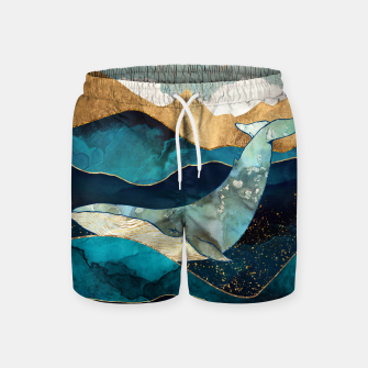 Thumbnail image of Blue Whale Swim Shorts, Live Heroes