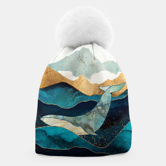 Thumbnail image of Blue Whale Beanie, Live Heroes