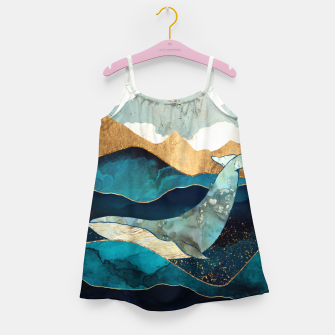 Thumbnail image of Blue Whale Girl's dress, Live Heroes